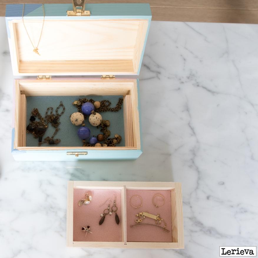 Lerieva juwelenkistje binnenkant