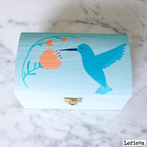 Lerieva juwelenkistje kolibrie