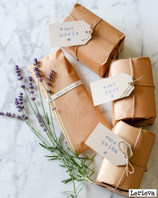 lerieva pakjes met lavendel