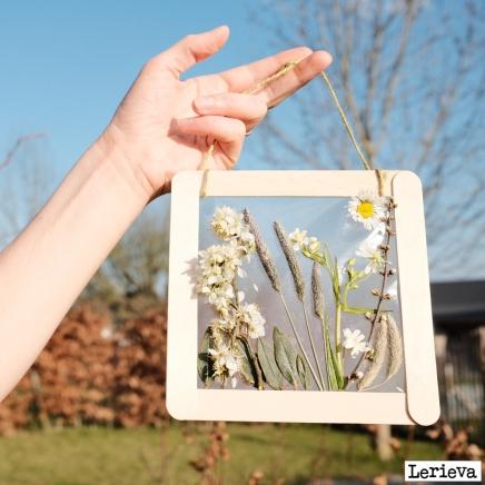 Lerieva kader bloempjes 1
