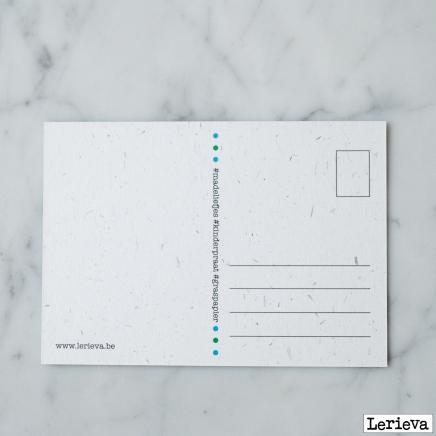 Lerieva postkaart mamaliefjes verso